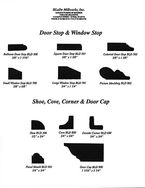 5 Door and Window Stops