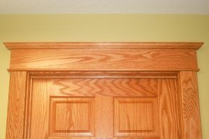 Door cap and bullnose stop by Blade Millworks