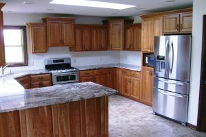 Kitchen cabinets by Blade Millworks