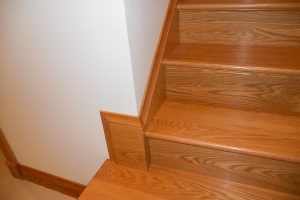 Red Oak stair by Blade Millworks