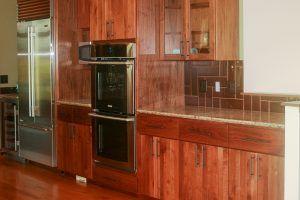 Walnut Cabinets by Blade millworks