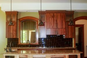 Walnut Cabinets by Blade millworks